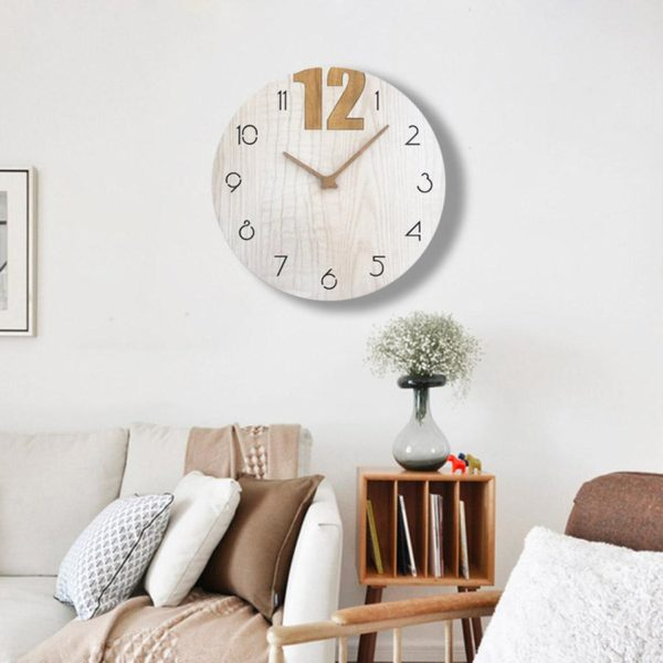 Les horloges scandinaves, un incontournable de décoration murale nordique